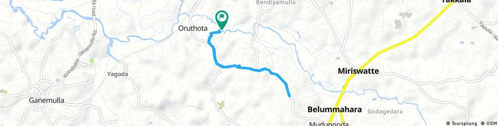 Quick bike tour through moragoda