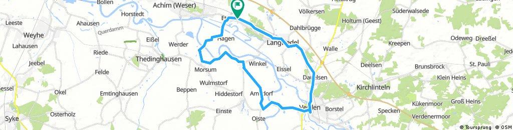 Aller / Wesertour