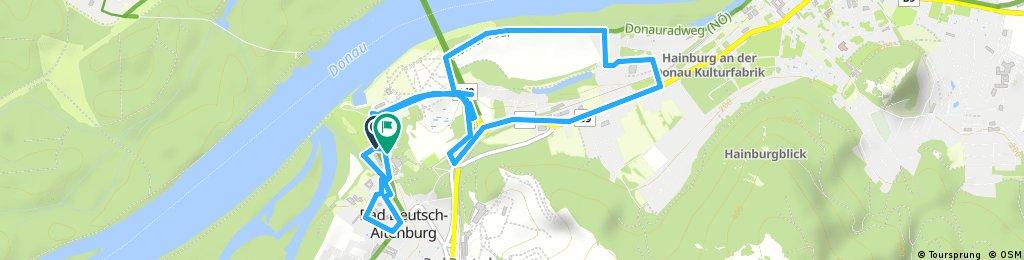 Kurze Ausfahrt durch Bad Deutsch-Altenburg