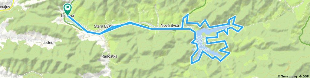 Stará Bystrica - Vodná nádrž