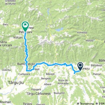 Lengthy ride through Petroșani