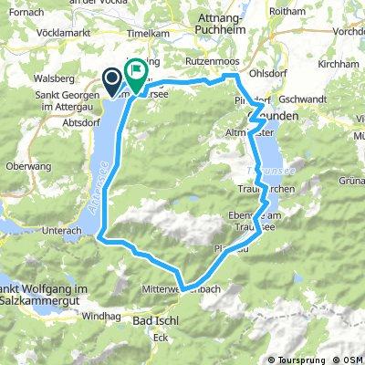 Litzlberg - Gmunden - Litzlberg