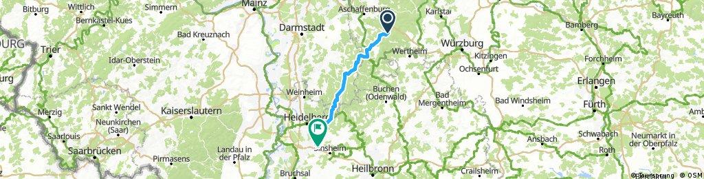 Dammbach rückweg