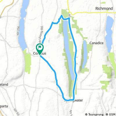Hemlock24.8 miles