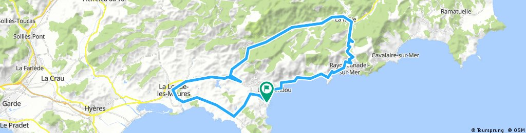 Rundfahrt La Londe La Mole Bormes