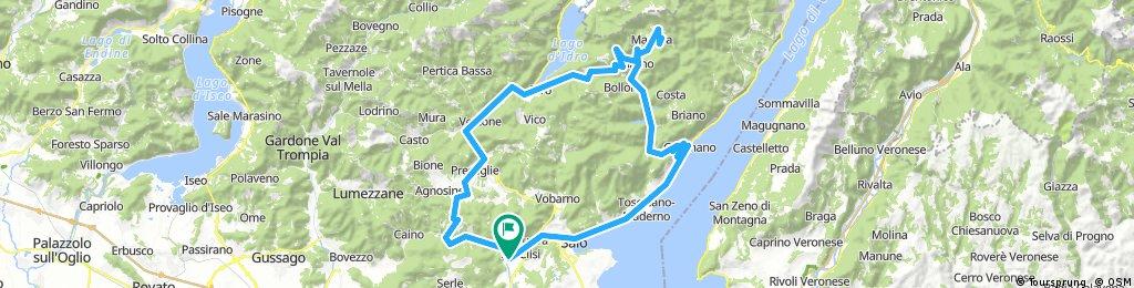 Gavardo, Gargnano, Navazzo, Cima Rest, Capovalle, Idro, Preseglie, Coste S.Eusebio