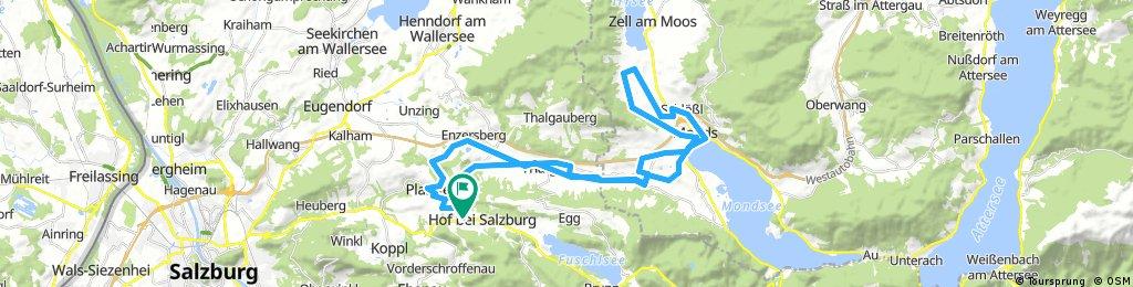 Hof - Thalgau - Mondsee - Hof