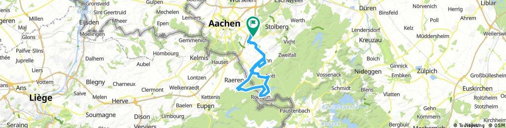 Rundroute Aachen-Brand Roetgen