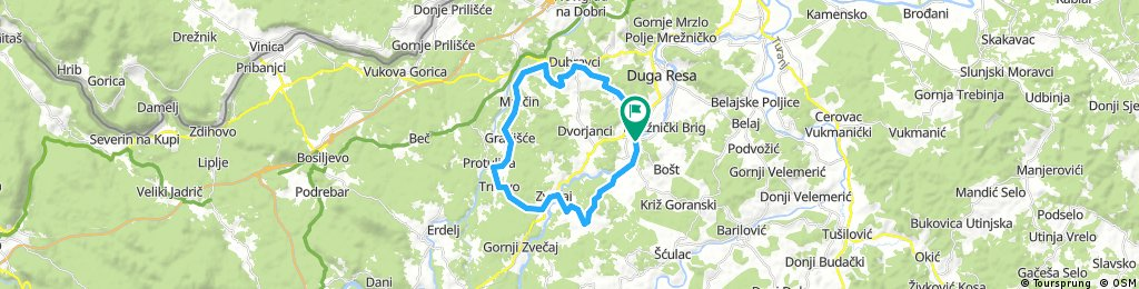 Karlovac county Cycling adventure route 2