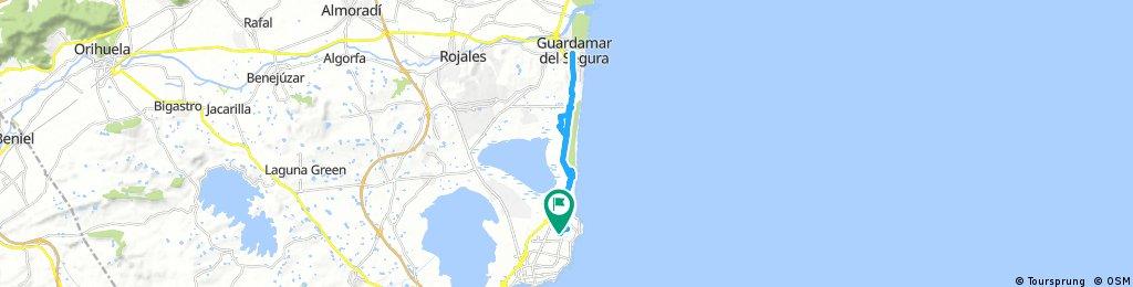 Torrevieja til Guademar