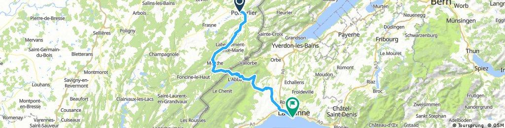Pontarlier - Armoy (Thonon-les-Bains)