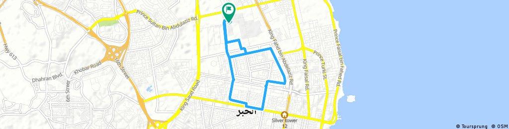 bike tour through Al Khubar