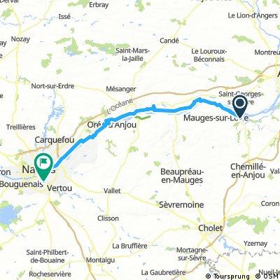 Chalonnes - sur Loire nach Nantes