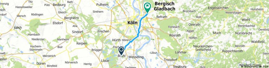 Radtour nach Brühl