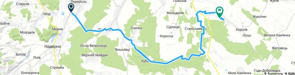 Лісна Тарновиця - Черемхів