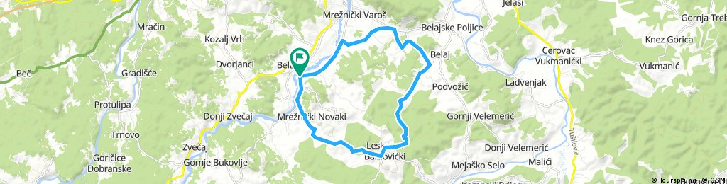 Karlovac county Cycling adventure route 4