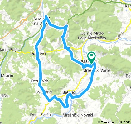 Karlovac county Cycling adventure route 5
