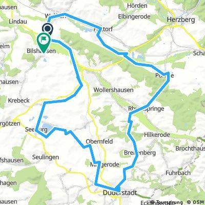 Bilshausen-Duderstadt-Seeburg-Bilshausen