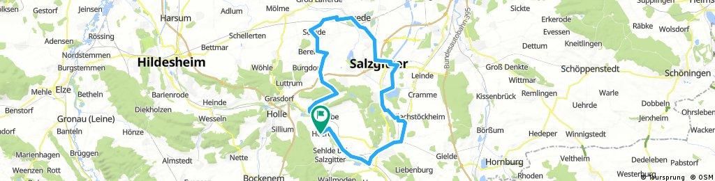 Oelber-Lesse-Söhlde-Lengede-Hallendorf-Heerte-Barum-SZ.Bad-Söderhof-Heere.01.08.2017.gpx