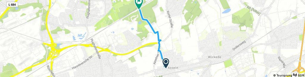 Verbindung Buschwiese-Körneweg