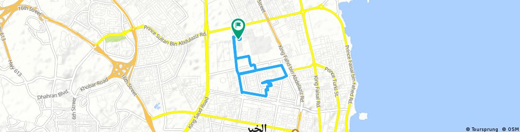 Brief bike tour through Al Khubar