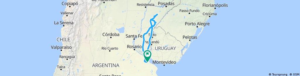 Parte 1 Buenos Aires-Esteros del Iberá