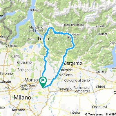 Gorgonzola - Val Taleggio - Culmine San Pietro