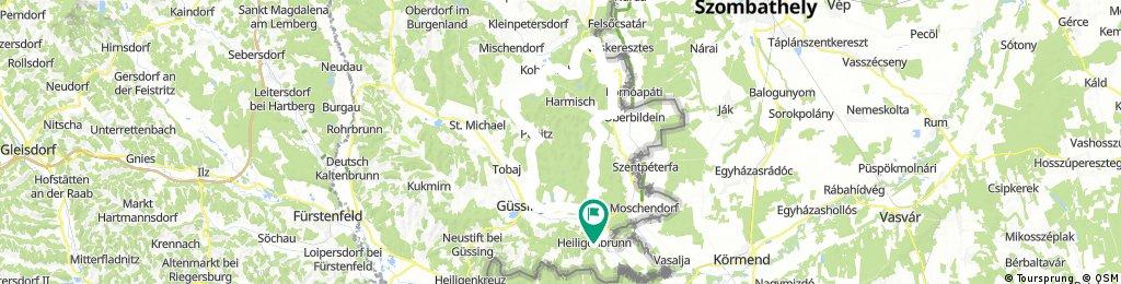 Route Csaterberg