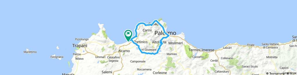 Palermo tūre 125km, 1.2k m