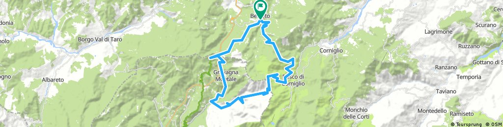 Giro dei tre Passi: Passo della Cisa - Passo del Cirone e Passo del Silara (Parma)
