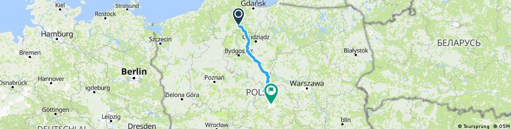 Odry - Łódź