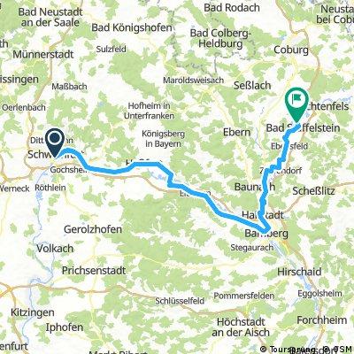 A22 Schweifurt - Bad Staffelstein