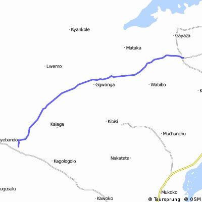 Uganda-Ruanda Etappe 3 (Kanoni-Sembabule)
