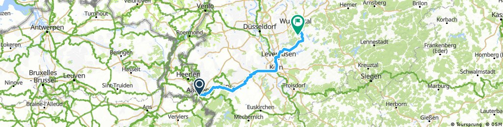 Aachen - Remscheid