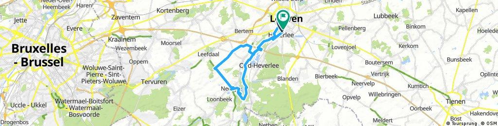 bike tour through Leuven