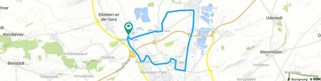 Radrunde durch Erfurt 02.08.17