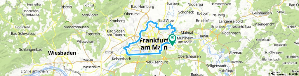 Grüngürtel Frankfurt (Teil) 2017