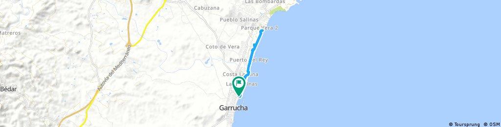 Quick bike tour through Garrucha