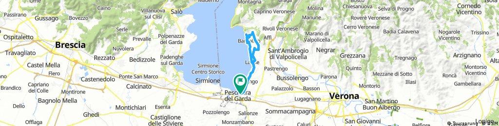 Lange Ausfahrt durch Peschiera del Garda