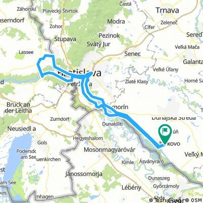 Bős - Pozsony - Hainburg - Bős