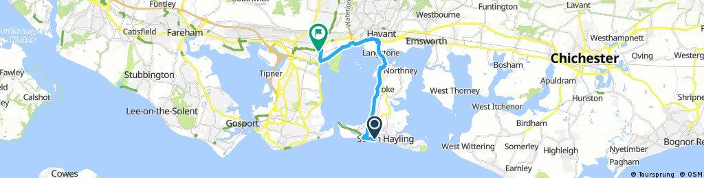 ride through Portsmouth
