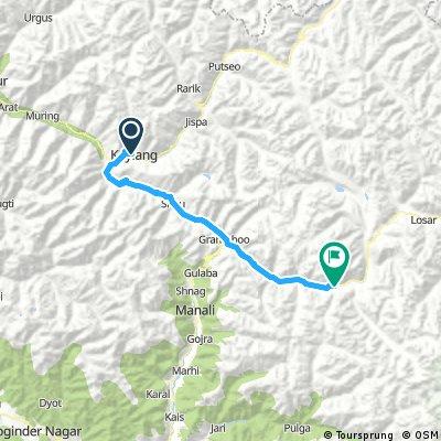 Srinagar - Shimla, Enter Spiti Day 1st