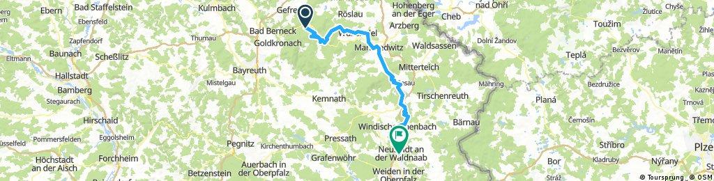 A24 Bischofsgrün-Neustadt(Waldnaab)