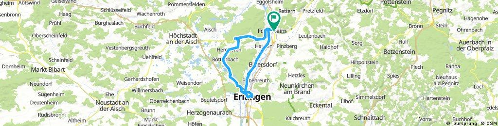 Rundtour Forchheim-Erlangen