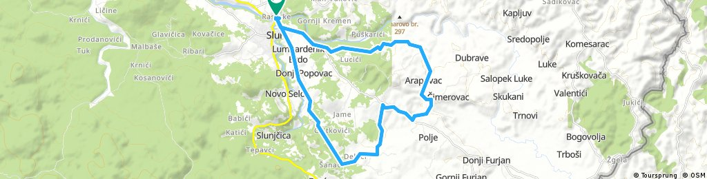 Karlovac county Cycling adventure route 23