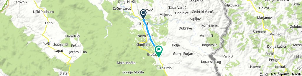 Karlovac county Cycling adventure route 26