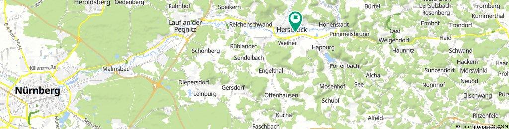 Radelparadies Nürnberger Land: Tour 11
