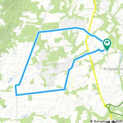 Eight Mile Route through Skillman