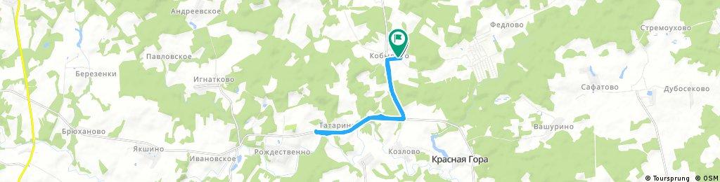 ride through Татаринки