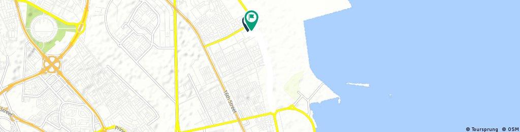 Short bike tour through Al Khobar